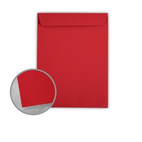 Plike Red Envelopes - No. 13 1/2 Catalog (10 x 13) 95 lb Text Smooth C/2S 400 per Box
