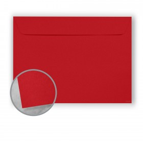 Plike Red Envelopes - No. 13 Booklet (10 x 13) 95 lb Text Smooth C/2S 400 per Box