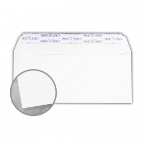 Plike White Envelopes - No. 10 Commercial Peel & Seal (4 1/8 x 9 1/2) 95 lb Text Smooth C/2S 400 per Box