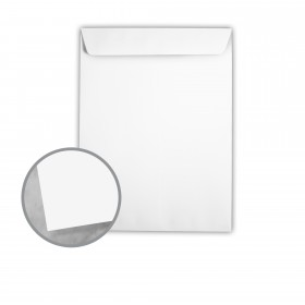 Plike White Envelopes - No. 13 1/2 Catalog (10 x 13) 95 lb Text Smooth C/2S 400 per Box