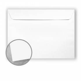 Plike White Envelopes - No. 13 Booklet (10 x 13) 95 lb Text Smooth C/2S 400 per Box