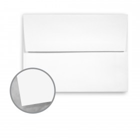 Plike White Envelopes - A7 (5 1/4 x 7 1/4) 95 lb Text Smooth C/2S 200 per Box