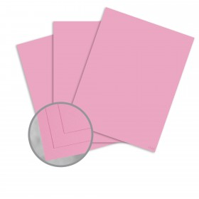 Pop-Tone Cotton Candy Card Stock - 8 1/2 x 11 in 65 lb Cover Vellum 250 per Package