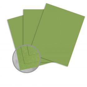 Pop-Tone Gumdrop Green Paper - 8 1/2 x 11 in 70 lb Text Vellum 500 per Ream