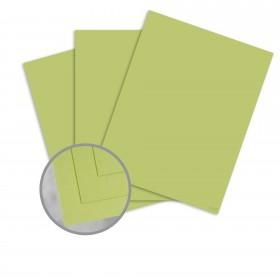 Pop-Tone Sour Apple Paper - 8 1/2 x 11 in 70 lb Text Vellum 500 per Ream