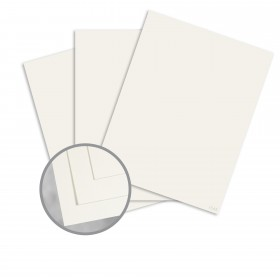 Pop-Tone Whip Cream Card Stock - 8 1/2 x 11 in 65 lb Cover Vellum 250 per Package