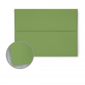Pop-Tone Gumdrop Green Envelopes - A6 (4 3/4 x 6 1/2) 70 lb Text Vellum  250 per Box