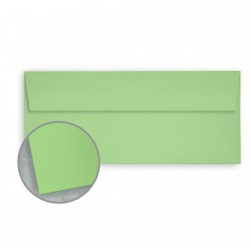 Pop-Tone Limeade Envelopes - No. 10 Square Flap (4 1/8 x 9 1/2) 70 lb Text Vellum 500 per Box