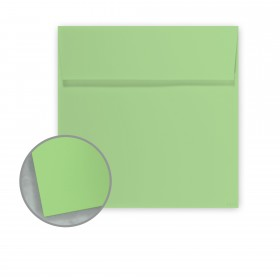 Pop-Tone Limeade Envelopes - No. 6 Square (6 x 6) 70 lb Text Vellum 250 per Box