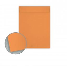 Pop-Tone Orange Fizz Envelopes - No. 10 1/2 Catalog (9 x 12) 70 lb Text Vellum 500 per Carton