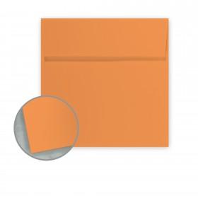 Pop-Tone Orange Fizz Envelopes - No. 6 Square (6 x 6) 70 lb Text Vellum 250 per Box