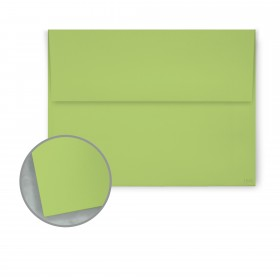 Pop-Tone Sour Apple Envelopes - A6 (4 3/4 x 6 1/2) 70 lb Text Vellum  250 per Box