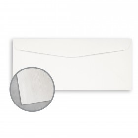 Royal Sundance 100 PC White Envelopes - No. 9 Regular (3 7/8 x 8 7/8) 24 lb Writing Linen  100% Recycled Watermarked 500 per Box
