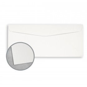 Royal Sundance 100 PC White Envelopes - No. 10 Commercial (4 1/8 x 9 1/2) 80 lb Text Smooth  100% Recycled 500 per Box