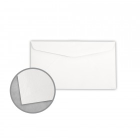 Royal Sundance 100 PC White Envelopes - No. 6 3/4 Regular (3 5/8 x 6 1/2) 24 lb Writing Laser Laid  100% Recycled Watermarked 500 per Box