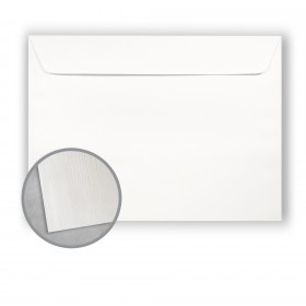 Royal Sundance 100 PC White Envelopes - No. 9 1/2 Booklet (9 x 12) 80 lb Text Linen  100% Recycled 500 per Carton