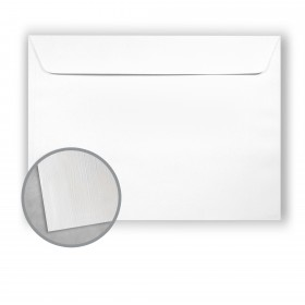 Royal Sundance Bright White Envelopes - No. 9 1/2 Booklet (9 x 12) 70 lb Text Linen  30% Recycled 500 per Carton