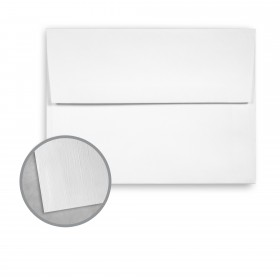 Royal Sundance Bright White Envelopes - A6 (4 3/4 x 6 1/2) 70 lb Text Linen  30% Recycled 250 per Box