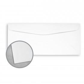 Royal Sundance Brilliant White Envelopes - No. 10 Commercial (4 1/8 x 9 1/2) 80 lb Text Felt 500 per Box