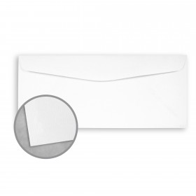 Royal Sundance Brilliant White Envelopes - No. 10 Commercial (4 1/8 x 9 1/2) 24 lb Writing Laser Laid Watermarked 500 per Box