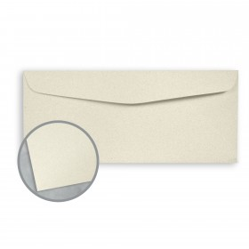 Royal Sundance Cream Envelopes - No. 10 Commercial (4 1/8 x 9 1/2) 24 lb Writing Fiber  30% Recycled 500 per Box