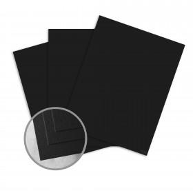 Royal Sundance Eclipse Black Card Stock - 26 x 40 in 100 lb Cover Felt  30% Recycled 250 per Carton