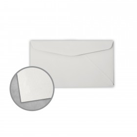 Royal Sundance Gray Envelopes - No. 6 3/4 Regular (3 5/8 x 6 1/2) 24 lb Writing Laser Laid  30% Recycled Watermarked 500 per Box