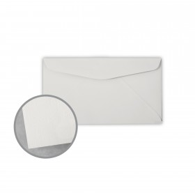 Royal Sundance Gray Envelopes - No. 6 3/4 Regular (3 5/8 x 6 1/2) 24 lb Writing Linen  30% Recycled Watermarked 500 per Box