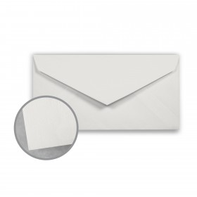 Royal Sundance Gray Envelopes - Monarch (3 7/8 x 7 1/2) 24 lb Writing Linen  30% Recycled Watermarked 500 per Box
