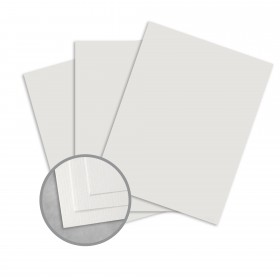 Royal Sundance Gray Card Stock - 26 x 40 in 80 lb Cover Laid  30% Recycled 300 per Carton