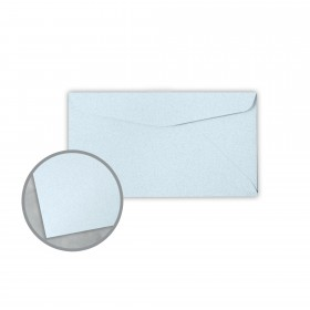 Royal Sundance Ice Blue Envelopes - No. 6 3/4 Regular (3 5/8 x 6 1/2) 24 lb Writing Fiber  30% Recycled 500 per Box