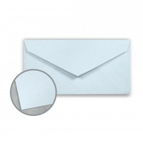 Royal Sundance Ice Blue Envelopes - Monarch (3 7/8 x 7 1/2) 24 lb Writing Fiber  30% Recycled 500 per Box
