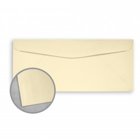 Royal Sundance Ivory Envelopes - No. 10 Commercial (4 1/8 x 9 1/2) 70 lb Text Linen  30% Recycled 500 per Box