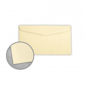 Royal Sundance Ivory Envelopes - No. 6 3/4 Regular (3 5/8 x 6 1/2) 24 lb Writing Laser Laid  30% Recycled Watermarked 500 per Box
