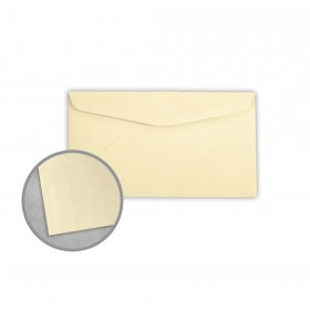 Royal Sundance Ivory Envelopes - No. 6 3/4 Regular (3 5/8 x 6 1/2) 24 lb Writing Linen  30% Recycled Watermarked 500 per Box