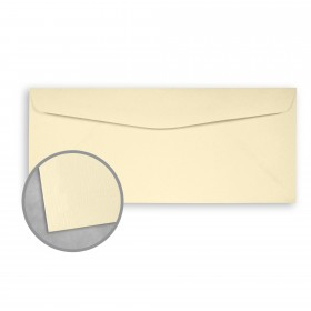 Royal Sundance Ivory Envelopes - No. 9 Regular (3 7/8 x 8 7/8) 24 lb Writing Laser Laid  30% Recycled Watermarked 500 per Box