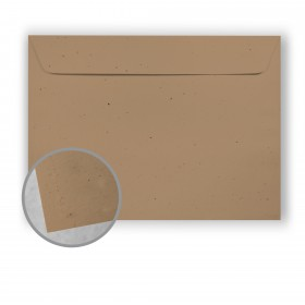 Royal Sundance Kraft Envelopes - No. 9 1/2 Booklet (9 x 12) 70 lb Text Fiber  30% Recycled 500 per Carton