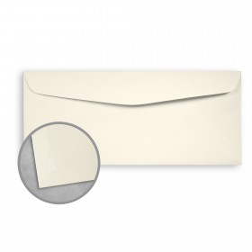 Royal Sundance Natural Envelopes - No. 10 Commercial (4 1/8 x 9 1/2) 24 lb Writing Laser Laid  30% Recycled Watermarked 500 per Box