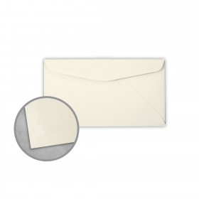 Royal Sundance Natural Envelopes - No. 6 3/4 Regular (3 5/8 x 6 1/2) 24 lb Writing Laser Laid  30% Recycled Watermarked 500 per Box