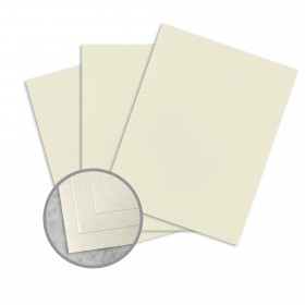 Royal Sundance Natural Card Stock - 8 1/2 x 11 in 80 lb Cover Smooth Fiber  30% Recycled 250 per Package