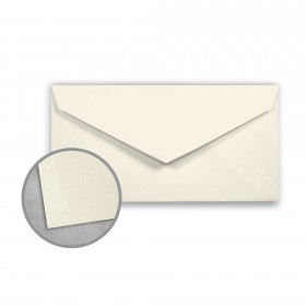 Royal Sundance Ivory Envelopes - Monarch (3 7/8 x 7 1/2) 24 lb Writing Laser Laid  30% Recycled Watermarked 500 per Box
