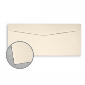 Royal Sundance Natural White Envelopes - No. 10 Commercial (4 1/8 x 9 1/2) 80 lb Text Felt  30% Recycled 500 per Box