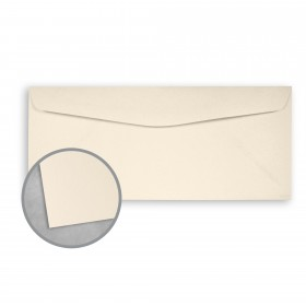 Royal Sundance Natural White Envelopes - No. 10 Commercial (4 1/8 x 9 1/2) 24 lb Writing Smooth  30% Recycled Watermarked 500 per Box