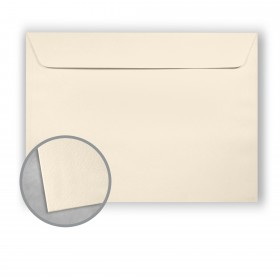 Royal Sundance Natural White Envelopes - No. 9 1/2 Booklet (9 x 12) 80 lb Text Felt  30% Recycled 500 per Carton