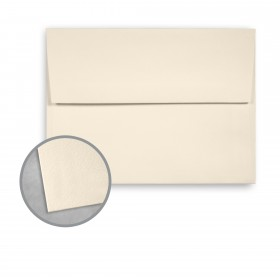 Royal Sundance Natural White Envelopes - A6 (4 3/4 x 6 1/2) 80 lb Text Felt  30% Recycled 250 per Box