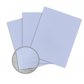 Royal Sundance Periwinkle Card Stock - 26 x 40 in 80 lb Cover Smooth Fiber  30% Recycled 300 per Carton