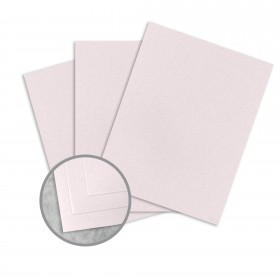 Royal Sundance Rose Card Stock - 8 1/2 x 11 in 80 lb Cover Smooth Fiber  30% Recycled 250 per Package