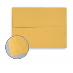 Royal Sundance Sunflower Envelopes - A7 (5 1/4 x 7 1/4) 70 lb Text Fiber  30% Recycled 250 per Box
