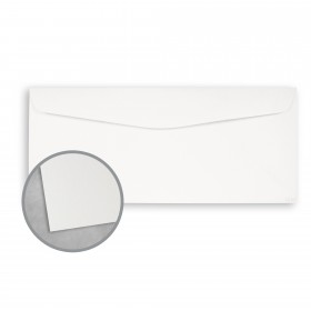 Royal Sundance Ultra White Envelopes - No. 10 Commercial (4 1/8 x 9 1/2) 80 lb Text Smooth  30% Recycled 500 per Box