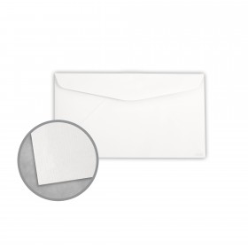 Royal Sundance Ultra White Envelopes - No. 6 3/4 Regular (3 5/8 x 6 1/2) 24 lb Writing Laser Laid  30% Recycled Watermarked 500 per Box
